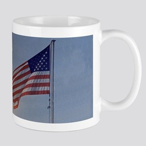 Apollo 11 Launch & Flag Mug